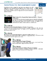 CryoVation – Control Panels Industrial & Fill-Free SPEC Sheets