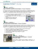 CryoVation – Fill-Free 1.0 – 5.0 Automation SPEC Sheets