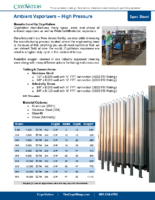 CryoVation – Vaporizers Ambient SPEC Sheets