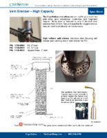 CryoVation – Vent Silencers SPEC Sheets