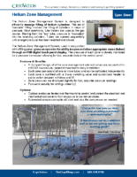 CryoVation – Helium Zone MGMT Cascade System SPEC Sheets