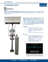 CryoVation – MasterSense CO2 Moisture Sensor Spec Sheet