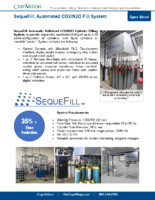 CryoVation – SequeFill Automated SPEC Sheets