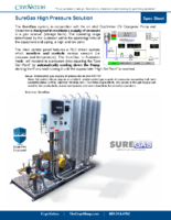 CryoVation – SureGas HP Solution SPEC Sheets